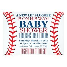 473 best sports baby shower invitations images on pinterest in 2018 all star baseball baby shower invitations filmwisefo