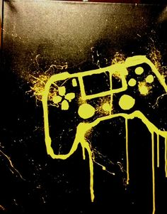 Controller Painting Custom Art Made For You  PS4 XBOX NINTENDO SONY MICROSOFT PC Add yours to you mancave or gaming set up today! by NorthEastKustoms