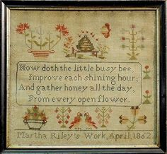 How doth the little busy bee...