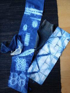 classic shibori stitches and itajime