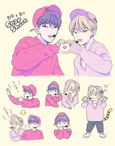 Carat Seventeen, Seventeen Memes, Hoshi Seventeen, Kpop Drawings, Cute Drawings, Seventeen Wallpapers, Aesthetic Stickers, Kpop Fanart, Pledis Entertainment