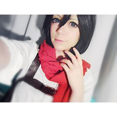 The Mikasa cosplay is hot and kinda uncomfortable but still fun to wear. It just makes me feel like a badass ;3 . . . #cosplay #cosplayer #coser #anime #animecosplay #costest #cosplaytest #makeup #makeuptest #cosplaymakeup #kawaii #kawaiimakeup #animegirl #mikasa #mikasacosplay #mikasaackerman #mikasaaot #aot #aotcosplay #snk #snkcosplay #attackontitan #attackontitancosplay #shingekinokyojin #shingekinokyojincosplay #dutchcosplay