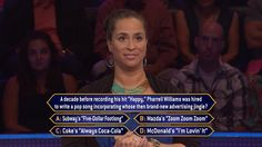 Today, Geanna Wolfgramm hopes to be humming a happy tune with some big #money. Will a #jingle puzzle stand between her and giving the correct #FinalAnswer? Host Terry Crews welcomes Geanna to Wednesday's all-new #MillionaireTV. Go to www.millionairetv.com for time and channel to watch!