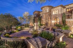Estate of the Day: $5.5 Million Mediterranean European Villa in Paradise Valley, Arizona - See more at: http://www.exoticexcess.com/estates/estate-of-the-day-5-5-million-mediterranean-european-villa-in-paradise-valley-arizona/#sthash.ial8s8S0.dpuf