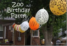 Zoo Birthday Party Ideas