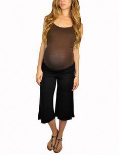 Maternity Pants-Go Mama Gaucho Pants From $24.99 | Pants | MommyLicious Maternity