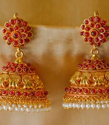 Gold Plated Jhumkas Jhumka Online India Jewelry Jewelery