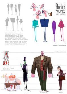 Mais personagens para inspirar, por Joseph Lee | THECAB - The Concept Art Blog