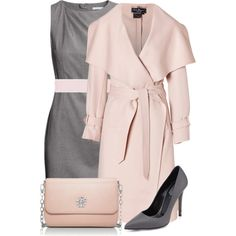 """Pink&Gray Outfit"""