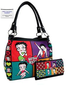"""Oh, you""ll just love Kate Spade handbags! Being a skeptic, I started to educate myself on these bags before I decided to make a purchase. Best Handbags, Purses And Handbags, Nice Handbags, Coin Purses, Original Betty Boop, Betty Boop Purses, Black Betty Boop, Betty Boop Pictures, Kate Spade Handbags"