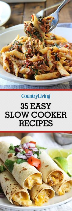 40+ Slow Cooker Recipes for Busy Nights - Get Dinner on the Table Fast!