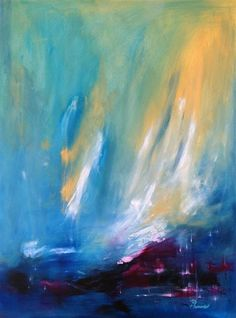 "Original art for sale at UGallery.com | Northern Light by Sarah Parsons | $1,850 | oil painting | 40"" h x 30"" w 