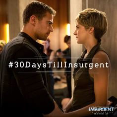 IMPORTANT: Only #30DaysTillInsurgent. Are you prepared?