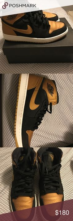 Authentic Air Jordan 1 Retro High Melos These shoes have been worn only a few times, but the have a few creases. There are also a few miner scuff marks that can be easily wiped off. Jordan Shoes Sneakers