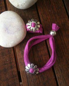 Si os gusta el trapillo, en nuestro taller del día 6 de septiembre en el Mercado de Tapinería, encontrarás muchísimas ideas y posibilidades para trabajar accesorios como collares, pulseras, broches... y mucho más. Paper Jewelry, Fabric Jewelry, Diy Jewelry, Jewelry Making, Ribbon Bracelets, Jewelry Bracelets, Jewelery, T Shirt Bracelet, Sewing Scarves
