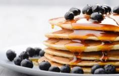 These low sodium pancakes are simple to make and only take minutes. A great low sodium blueberry pancake recipe! Nutella, Easy Banana Pancake Recipe, Oreo, Homemade Maple Syrup, Pancake Toppings, Low Sodium Recipes, Healthy Recipes, Sodium Foods, Healthy Foods