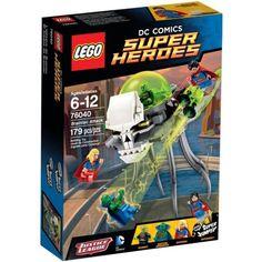 Đồ chơi LEGO 76040 Brainiac Attack – Cuộc tấn công của Brainiac