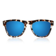 Hallandale Clear / Tortoise with Gold Mirrored Lenses | illesteva