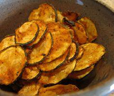 Vegan Raw Food: Raw Spicy Zucchini Chips Recipe