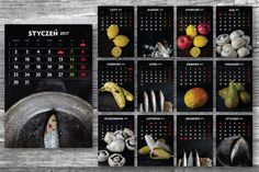 Calendar 2017 images included by Feelings on @creativemarket