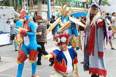 バンコクのジャパンエキスポはタイ人コスプレイヤーたちの祭典でした - GIGAZINE