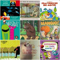 Children books with MONSTERS!!!