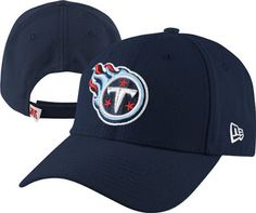Tennessee Titans Navy New Era 9FORTY Adjustable Hat Vanderbilt Commodores, New Era 9forty, Memphis Tigers, Nfl Gear, Memphis Grizzlies, Tennessee Titans, Tennessee Volunteers, Sports Teams, Nashville