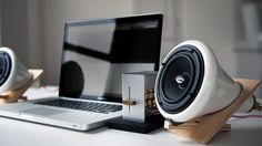 ceramic speakers  http://www.ahalife.com/product/450/ceramic-speakers-joey-roth/#