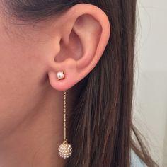 Cluster Drops Earring