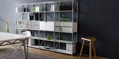 Design Möbel Aufbewahrung, Regalsystem, Tisch | System 180