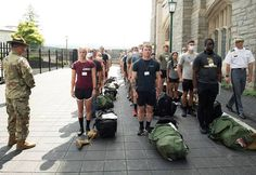 A line of cars flowed through the parking lot by Buffalo Soldier Field over three days carrying with it approximately 1,225 new cadets from across the nation who were taking a huge leap into unknown territory on Reception Day at the U.S. Military Academy.