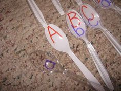 Create a simple game for letter recognition and matching.