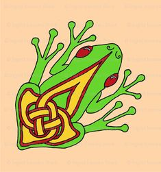Druid symbols and their meanings celtic designs and for Celtic frog tattoo designs