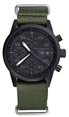 Maurice de Mauriac Black Ops Watch