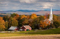 October Townscape: Peacham, VT | Flickr - Photo Sharing!