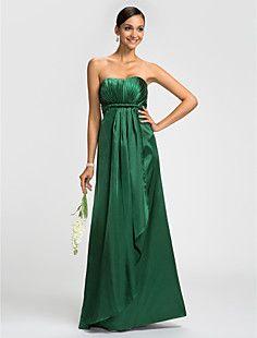 θήκη / στήλη στράπλες ελαστικό πάτωμα-μήκους φόρεμα παράνυμφ... – EUR € 73.99