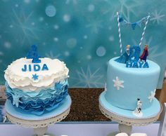 Frozen Party, Frozen Theme Cake, Cake for Sisters
