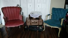Lounge Accent Chairs, Lounge, Wedding, Vintage, Furniture, Home Decor, Airport Lounge, Casamento, Homemade Home Decor