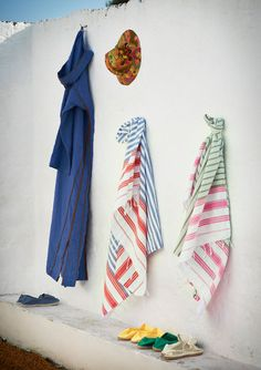 Striped Hammam Towel $31 fr Toast  #beach #pool #gifts
