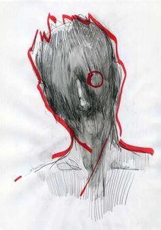 Giorgos Chatziagorou, Red circle on ArtStack #giorgos-chatziagorou #art