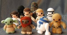 Well, I've finally done it! I've designed all my Star Wars amigurumi to my satisfaction, written up the patterns, photographed them, pu...