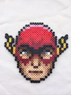 The Flash Perler Bead Sprite for sale by PrettyPixelations!