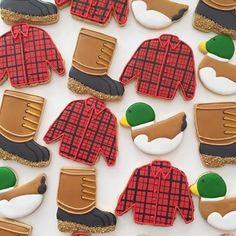 My kind of Christmas cookies. Man Cookies, Cut Out Cookies, Cute Cookies, Cupcake Cookies, Cupcakes, Horse Cookies, Cookie Frosting, Royal Icing Cookies, Iced Sugar Cookies