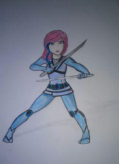 Ninjago Anime Seliel by Squira130.deviantart.com on @deviantART