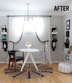 Tracey Tilley's Breakfast Nook Transformation | west elm