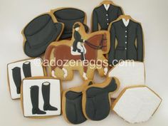 equestrian cookies - Google Search