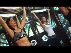 ▶ Rutina de 10 minutos de Tiffany Rothe para tónificar y adelgazar la cintura! - YouTube