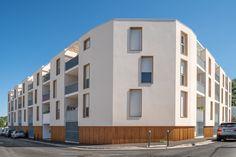 Côté Ville - Cenon (33) © Arnaud Bertrande Aquitaine, Multi Story Building