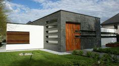 Voorgevel met entree studio 412 moderne bungalow met for Architekten bungalow modern