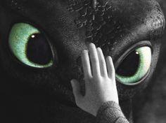 Toothless eyes.... <3 them